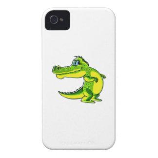 Ligar el cocodrilo iPhone 4 fundas