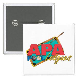 Ligas de la piscina de APA Pin Cuadrado