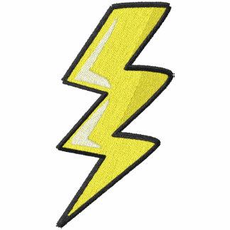 Lighning Bolt Chest Embroidered Shirt