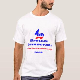 Light 2008 Brewer Democrats Shirt w/ slate