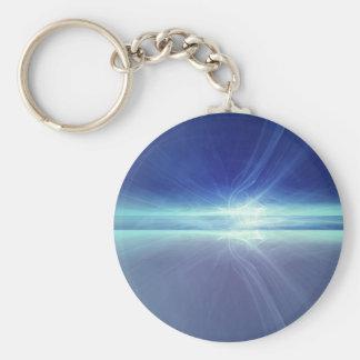 Light Abstract Keychain