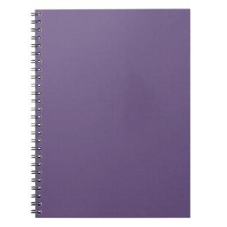 Light Acai College One Color Note Books