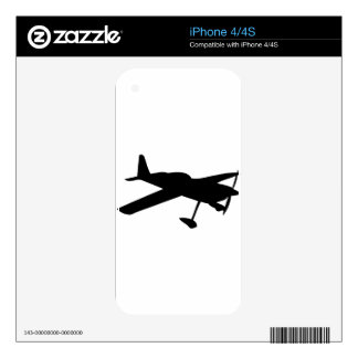 light aircraft plane skin for iPhone 4