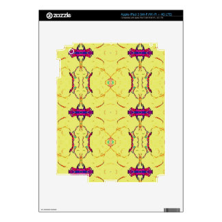 Light and Airy Modern Yellow Pattern. Decals For iPad 3