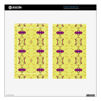 Light and Airy Modern Yellow Pattern. Skin For Kindle Fire