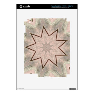 Light and Airy Soft Star Shaped Pattern iPad 3 Skin