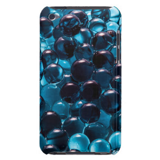 Light and Dark Blue Glass Marbles Barely There iPod Covers