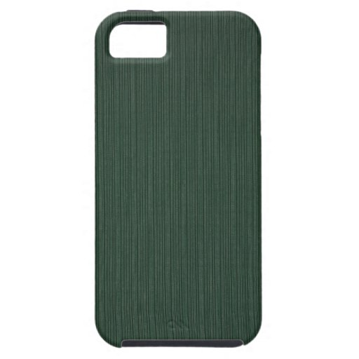 Light and dark green stripes wallpaper, 1895-1910 iPhone 5 cover