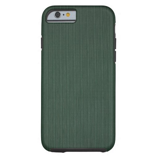 Light and dark green stripes wallpaper, 1895-1910 iPhone 6 case