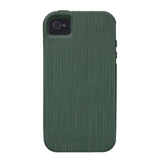 Light and dark green stripes wallpaper, 1895-1910 vibe iPhone 4 case