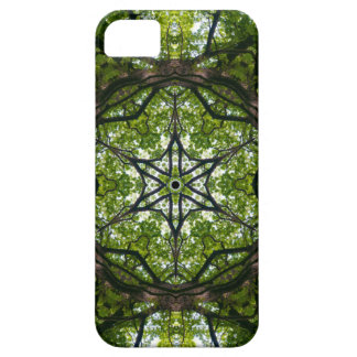 Light  And Pattern In The Leaves iPhone5 Case
