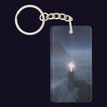 Light and Salvation Acrylic Keychain