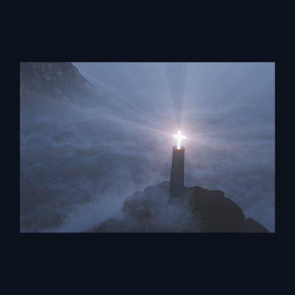 Light and Salvation Canvas Print