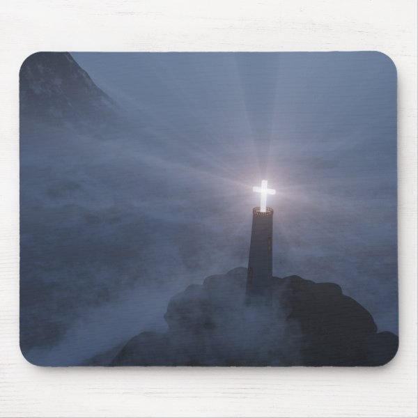 Light and Salvation Mousepad