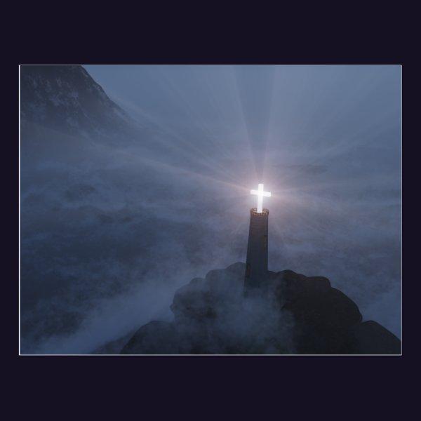 Light and Salvation Postcard