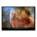 Light and Shadow in the Carina Nebula Cards