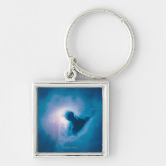 Light and Shadow in the Carina Nebula Keychain
