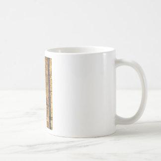 Light and shadow classic white coffee mug