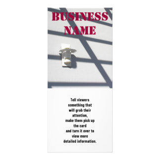 Light And Shadows, Business Name, Tell viewers ... Rack Card