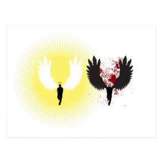 Light Angel/Dark Angel Postcard