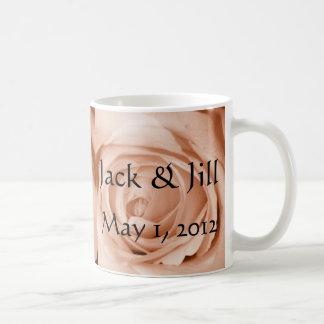 Light Apricot Save the Date Coffee Mug