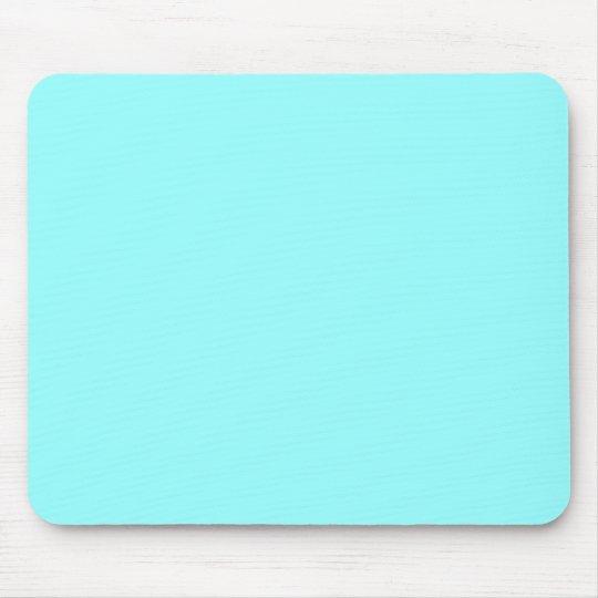 Light Aqua 99FFFF Mouse Pad