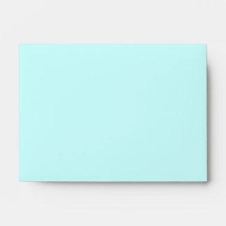 Light Aqua A6 Envelope