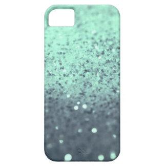 Light Aqua Blue Glitter iPhone SE/5/5s Case