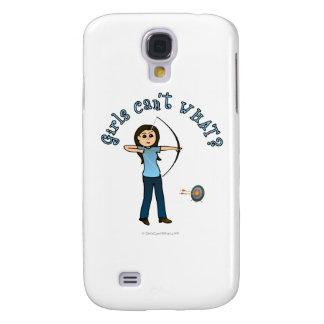 Light Archery in Blue Galaxy S4 Cases