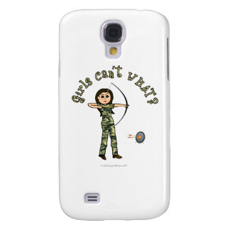 Light Archery in Camouflage Samsung Galaxy S4 Case
