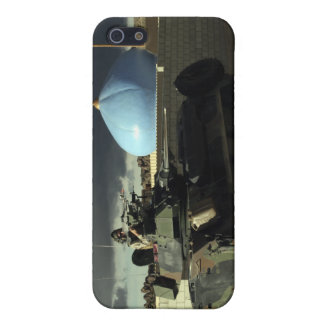 Light armored vehicle commander cover for iPhone SE/5/5s
