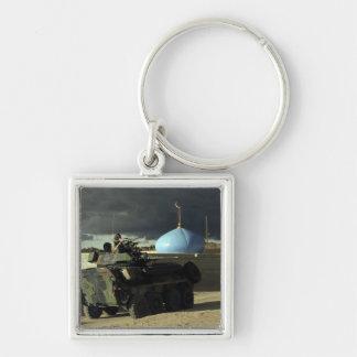 Light armored vehicle commander keychain