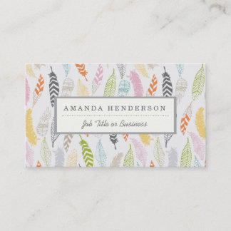 Light as a Feather Business Cards