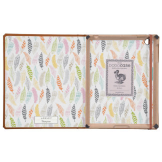 Light as a Feather by Origami Prints iPad Case