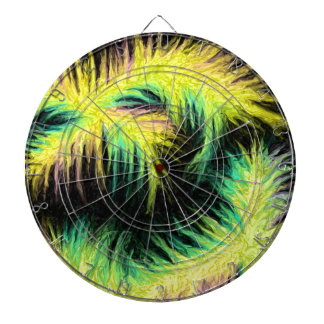 Light As A Feather Design Dart Board