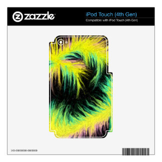 Light As A Feather Design iPod Touch 4G Skin