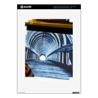 Light at end of the TUNNEL Boston Bridge views iPad 3 Skins
