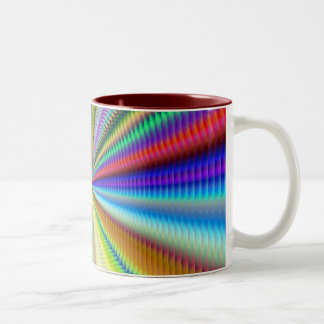 Light at End of Tunnel Two-Tone Coffee Mug