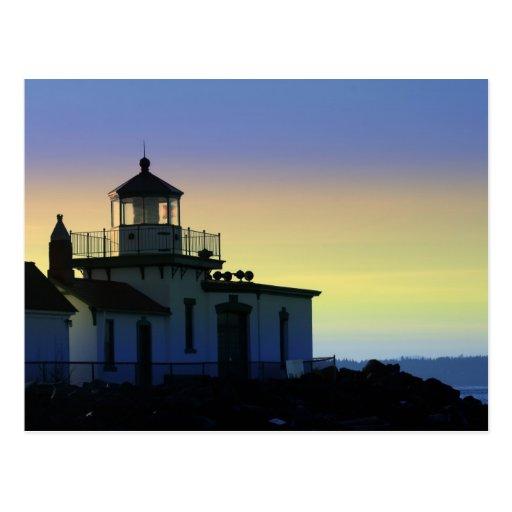 Light at Sunset Postcard