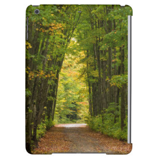 Light At The End Of A Tunnel Of Trees Cover For iPad Air