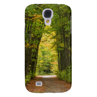 Light At The End Of A Tunnel Of Trees Galaxy S4 Case