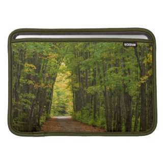 Light At The End Of A Tunnel Of Trees Sleeve For MacBook Air