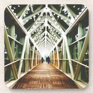 """Light At The End Of The Tunnel "" Beverage Coaster"