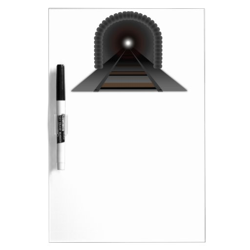 Light At The End Of The Tunnel! Dry-Erase Whiteboard