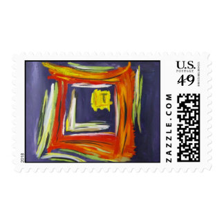 Light at the End of the Tunnel Postage Stamp