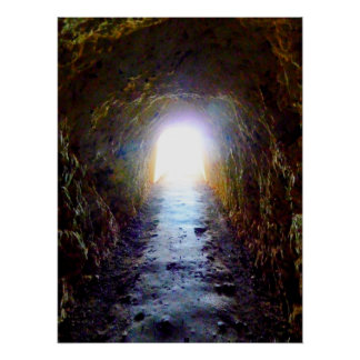 Light at the End of the Tunnel Poster
