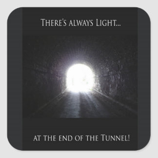 Light At The End Of The Tunnel Stickers