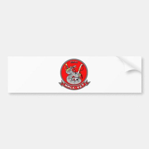 Light Attack Helicopter Squadron 467 Bumper Sticker