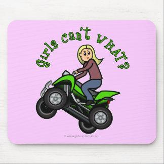 Light ATV | Four Wheeling Girl Mouse Pad