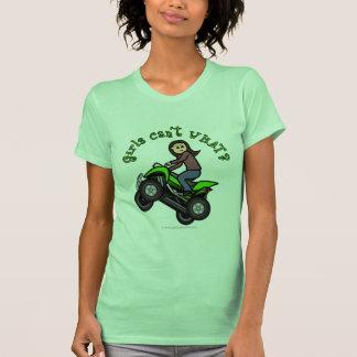 Light ATV | Four Wheeling Girl T Shirts